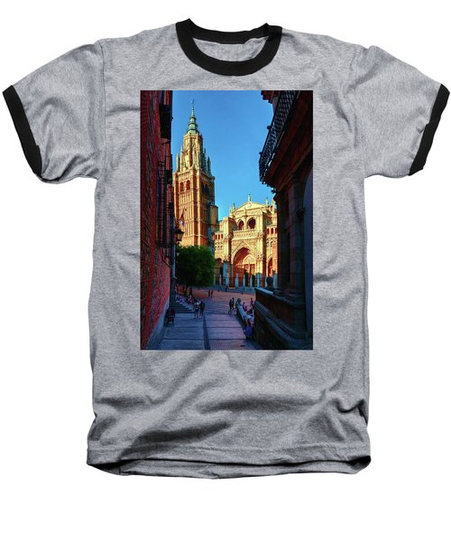 St Mary's Cathedral - Catholic Cathedral In Toledo, Chair Of The Primate Of Spain, The Main Cathedra Baseball T-Shirt