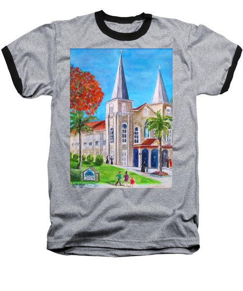 St. Mary's Catholic Church Key West Baseball T-Shirt