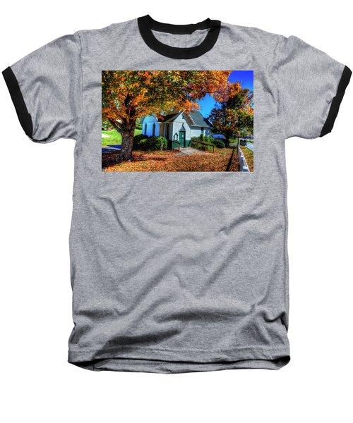 St Mary's Church Baseball T-Shirt by Dale R Carlson
