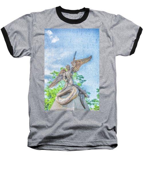 St Michael The Archangel Baseball T-Shirt