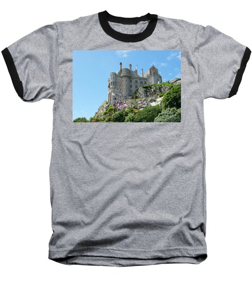 St Michael's Mount Castle Baseball T-Shirt