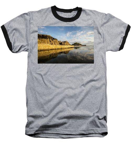 St Michaels Mount Cornwall  Baseball T-Shirt by Ken Brannen