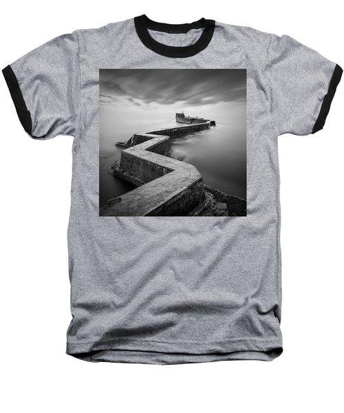 St Monans Breakwater Baseball T-Shirt