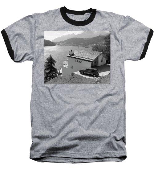 St Moritz Baseball T-Shirt