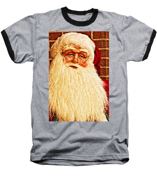 St. Nicholas Melting Canvas Photoart Baseball T-Shirt