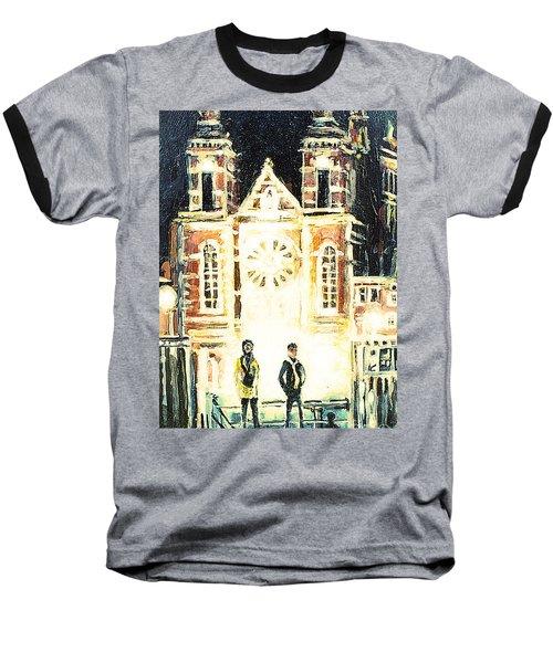 St Nicolaaskerk Church Baseball T-Shirt