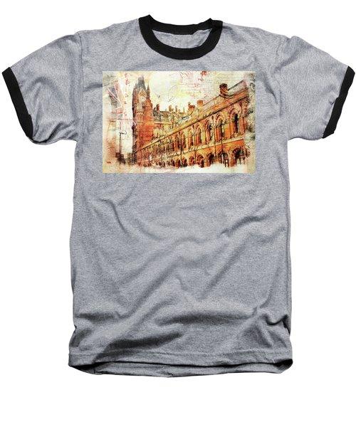St Pancras Baseball T-Shirt by Nicky Jameson