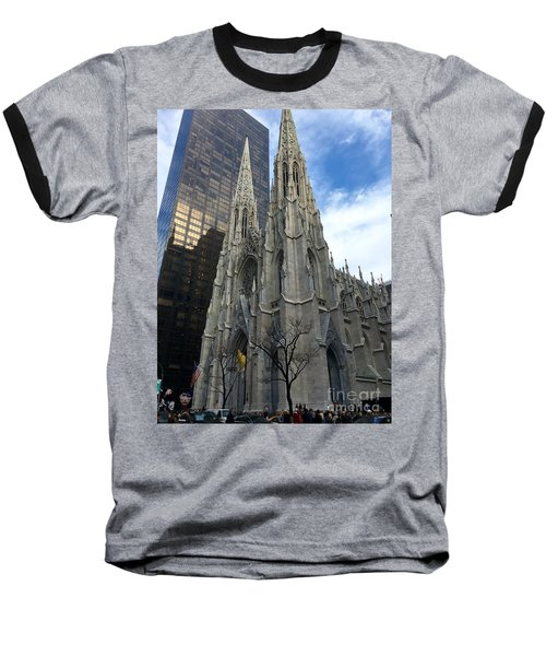 St. Patricks Cathedral Baseball T-Shirt
