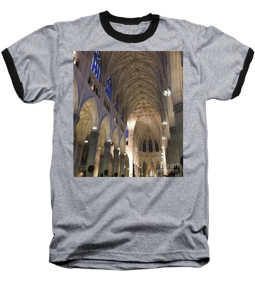 St. Patricks Cathedral Main Interior Baseball T-Shirt