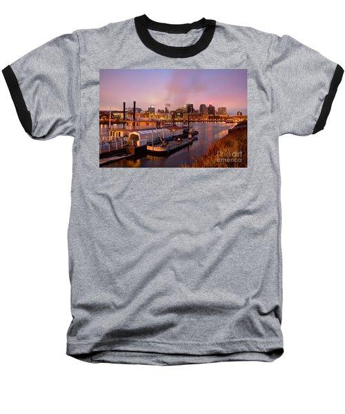 St Paul Minnesota Its A River Town Baseball T-Shirt