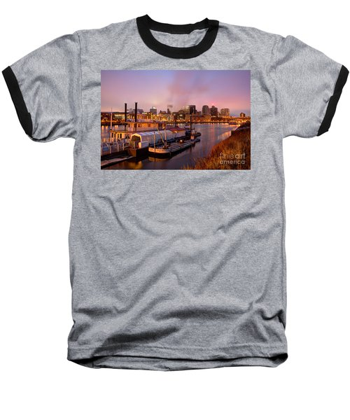 St Paul Minnesota Its A River Town Baseball T-Shirt