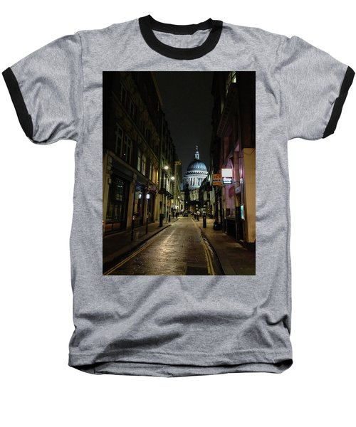 St. Pauls By Night Baseball T-Shirt