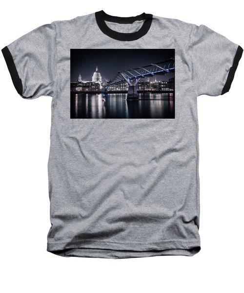 St Pauls Cathedral Baseball T-Shirt