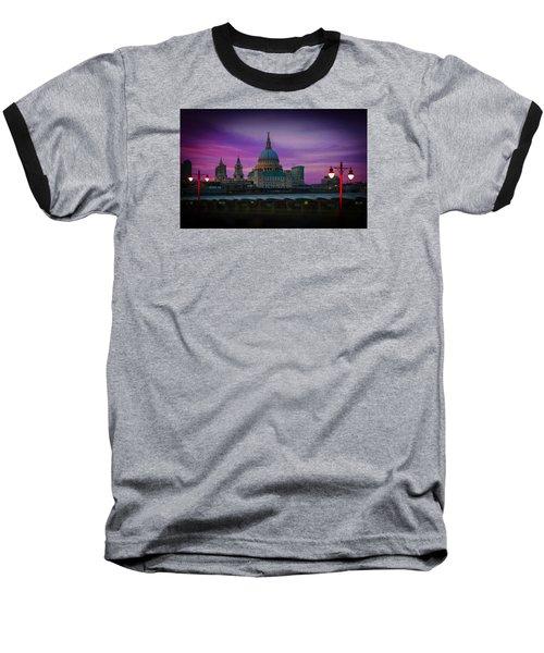 St Pauls Dusk Baseball T-Shirt