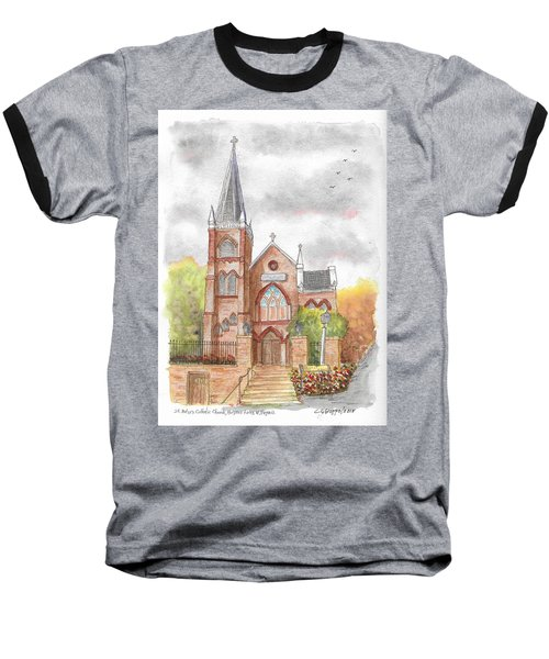 St. Peter's Catholic Church, Harpers Ferry, West Virginia Baseball T-Shirt