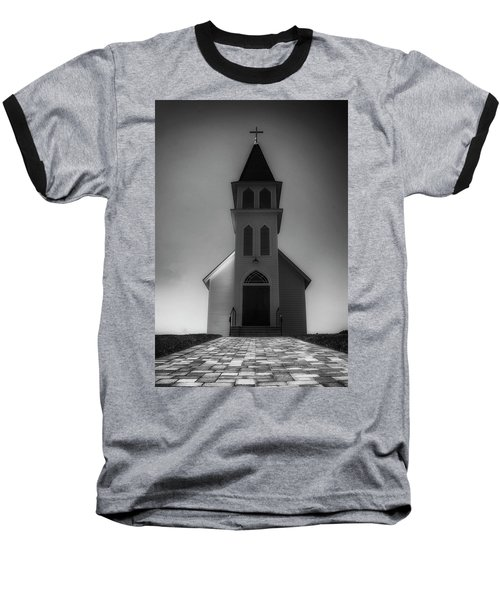 Baseball T-Shirt featuring the photograph St. Peter's Church by Joseph Hollingsworth