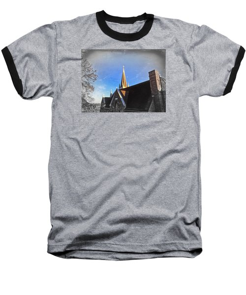 St. Peter's Spire Baseball T-Shirt