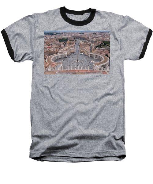 St. Peter's Square Baseball T-Shirt