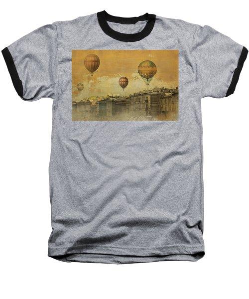 St Petersburg With Air Baloons Baseball T-Shirt