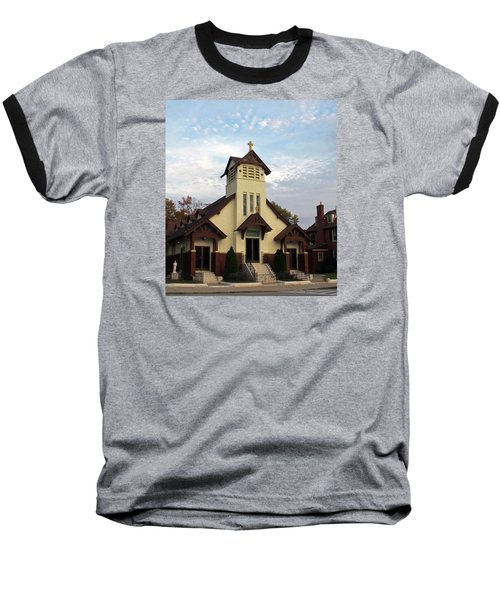 St. Rita's Church Baseball T-Shirt