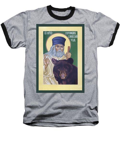 St. Seraphim Of Sarov - Rlses Baseball T-Shirt
