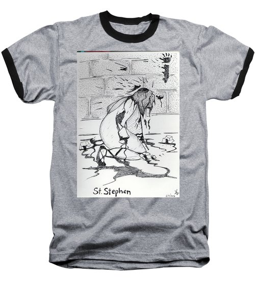 St Stephen Baseball T-Shirt