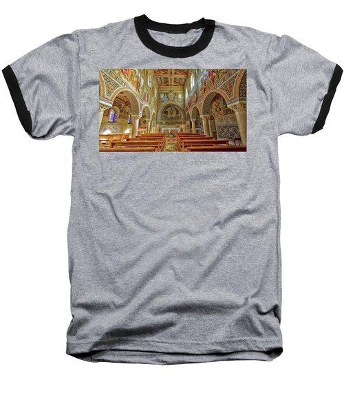 St Stephen's Basilica Baseball T-Shirt