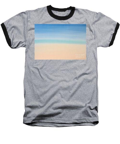 St Thomas #2 Seascape Landscape Original Fine Art Acrylic On Canvas Baseball T-Shirt