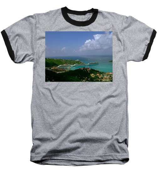St. Thomas  Harbor Baseball T-Shirt