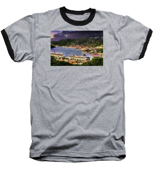 St Thomas Nights Baseball T-Shirt