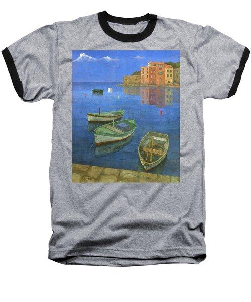 St. Tropez Baseball T-Shirt by Steve Mitchell