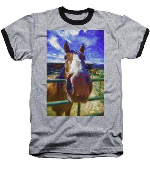 Stable Blues  Baseball T-Shirt