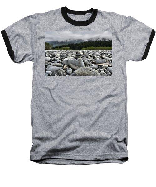 Stacked Rocks Baseball T-Shirt