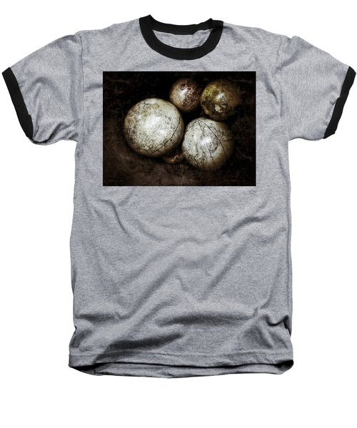 Stacking Worlds Baseball T-Shirt