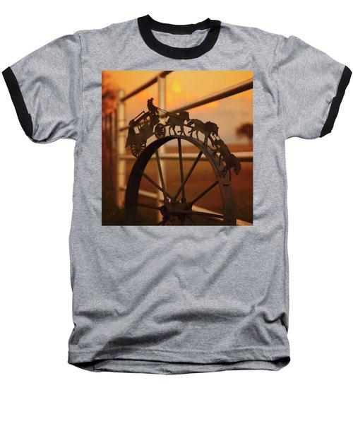 Stagecoach Sunset Baseball T-Shirt