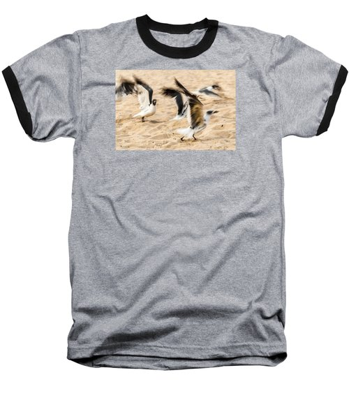 Stages Of Flight Baseball T-Shirt by Wayne King