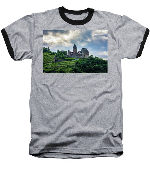 Baseball T-Shirt featuring the photograph Stahleck Castle by David Morefield