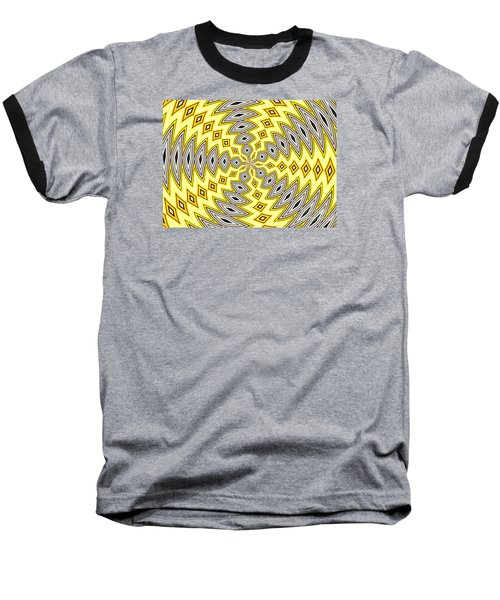 Baseball T-Shirt featuring the photograph Stained Glass Kaleidoscope 18 by Rose Santuci-Sofranko