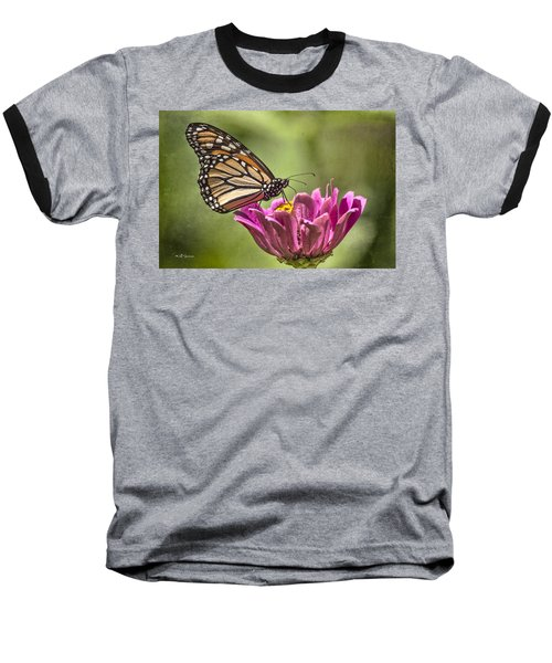 Stained Glass Wings Baseball T-Shirt