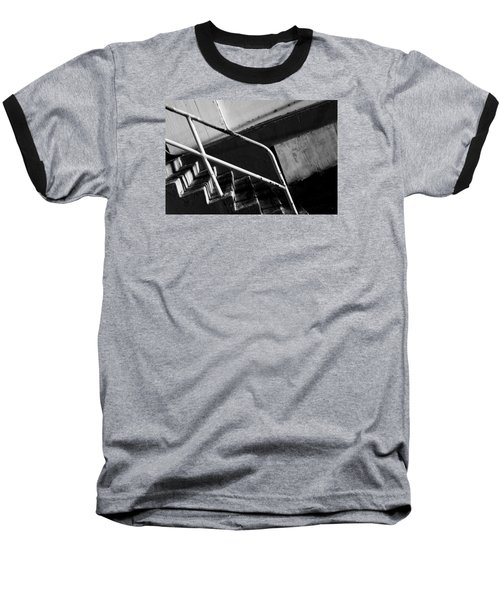 Stair Wall And Shadows Baseball T-Shirt