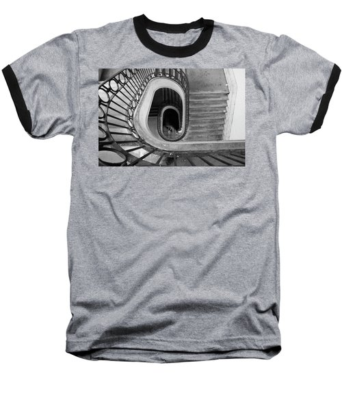 Staircase Spot On  Baseball T-Shirt