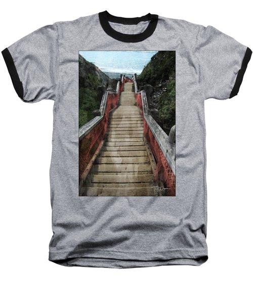 Stairs To Bliss Baseball T-Shirt