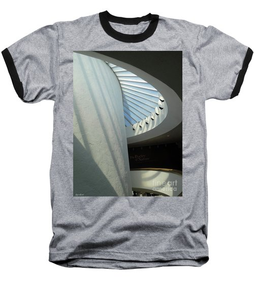 Stairway Abstract Baseball T-Shirt by Lyric Lucas