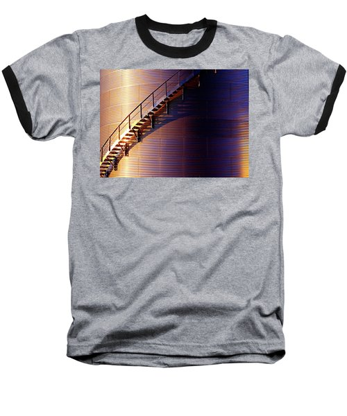 Stairway Abstraction Baseball T-Shirt