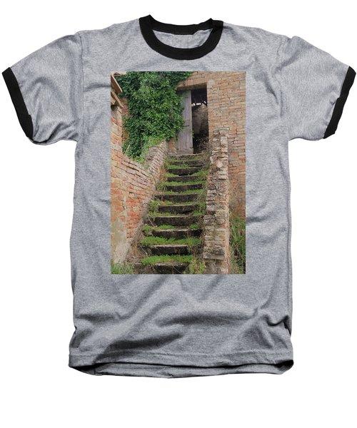 Stairway Less Traveled Baseball T-Shirt
