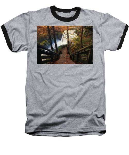 Stairway To Brandywine Baseball T-Shirt by Rob Blair