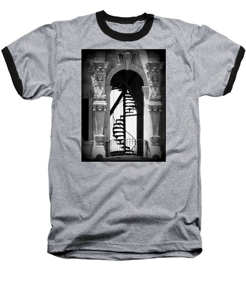 Stairway To Heaven Bw Baseball T-Shirt