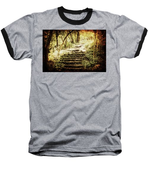Stairway To Heaven Baseball T-Shirt by Julie Hamilton