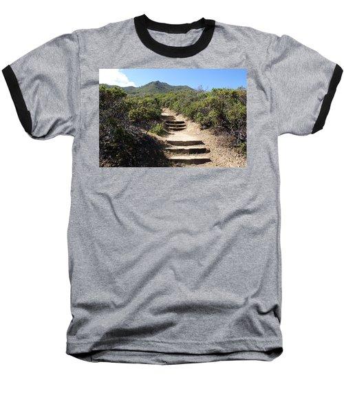 Stairway To Heaven On Mt Tamalpais Baseball T-Shirt