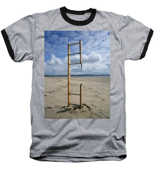 Stairway To Heaven Baseball T-Shirt by Richard Brookes